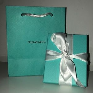 Brand New Tiffany & Co Infinity Sign Necklace